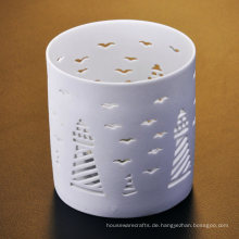 Turm und Seagull Gravierte Keramik-Halter