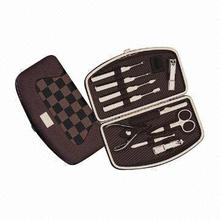 10-piece High Grade Manicure Set, Gift Promotion, Fashionable Style
