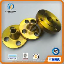 ASME B16.5 flange de aço carbono A105n Wn Flange forjada com TUV (KT0405)