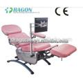 ДГ-BC006 стул дарителя крови медицинская регулируемая крови стульев аварийный электрический стул пожертвования крови