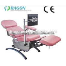 DM-BC006 blutspenderstuhl medizinische einstellbare blutstühle notfall elektrische blutspende stuhl