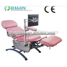 DW-BC006 blood donor chair medical adjustable blood chairs emergency electric blood donation chair
