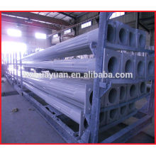 Tapered powder coat steel tube