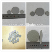 Malla sinterizada industrial del filtro del fieltro de la fibra del acero inoxidable de la precisión del micrón