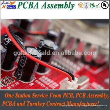 Carte PCB d'alimentation de 12v avec l'Assemblée visuelle de carte PCB d'épaisseur de carte de carte PCB de 2mm