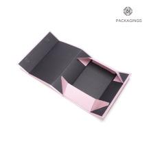 Faltpapierkasten des Luxusbuchform-einfachen Pakets