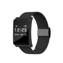 2017 Dispositivos portátiles Monitor de ritmo cardíaco Banda inteligente Monitor de actividad Bluetooth Pulsera inteligente X9 Plus Pulsera de presión arterial P2