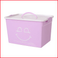 Storage Box with Lid and Latches