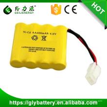 bateria recarregável ni-cd aa 4.8 v bateria 800 mah para o brinquedo