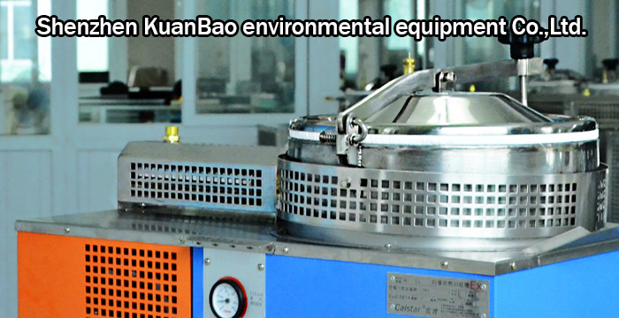 The thinner solvent recycling machine