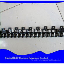 Industrial machine chains with attachment
