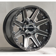 4x4 matt black concave alloy wheels