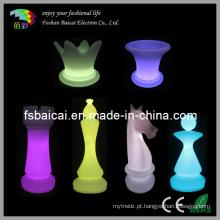 Jogo de xadrez LED
