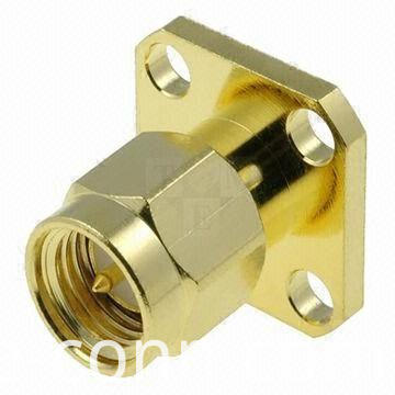 Panel Mount Sma Male Connector