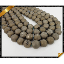 Druzy Beads, Natural Druzy Stone, Druzy Drusy pour femmes, pierres précieuses semi-fines (YAD025)