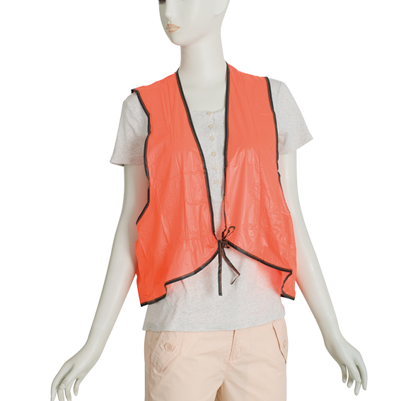 adult green color safety vest