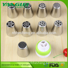 Stainless Steel Russia nozzle for pastry cake, Russian piping tips