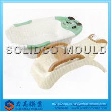 molde plástico de la bañera del bebé