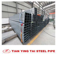 Tubo rectangular galvanizado caliente