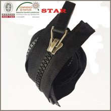 Plastic Leather Zipper Leather (#5)
