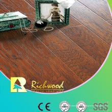 Revêtement de Lamiante gaufré ciré par Hickory commercial de 12.3mm