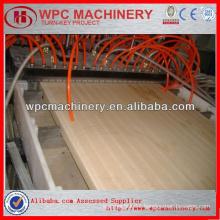 WPC wood plastic door panel production line