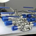 Шаровой кран с расширенным сварным швом санитарного класса 3PC