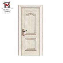 Nouveau modèle professionnel nouvelle porte d'entrée en bois en acier de conception