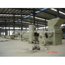 300 kg / h-3000 kg / h PET botella trituración lavado línea de secado