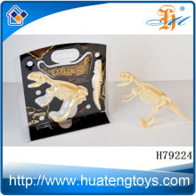 Shanou wholesale good quality plastic king dinosaur skeleton models for sale