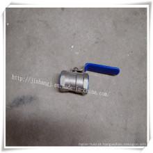 Válvula de esfera de aço inoxidável 1p