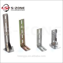Barre à rideaux métalliques bon marché, tuyau, poteau, support, support