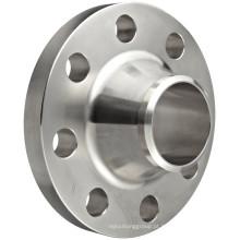 Flange de pescoço de solda de aço inoxidável ASME B16.5