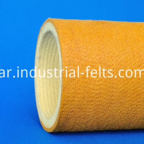 PBO Fiber High-Temp Felt Roller For Aluminium Profile