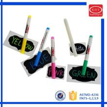 Promotional Chalkboard sticker with chalk marker set