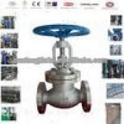 China API stinless steel flanged globe valve, Flanged globe valve