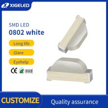 Cuentas de lámpara UV LED SMD 0802 SMD