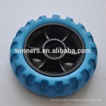 roda de brinquedo de plástico pequeno roda de eva de 4 polegadas