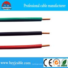 Greeb Blue Red PVC Isolierung, Kupferleiter Einzelkabel
