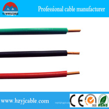 Greeb Blue Red PVC Insulation, Copper Conductor Single Cable