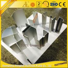 Perfil de alumínio da porta deslizante do fornecedor de China para o perfil de alumínio limpo