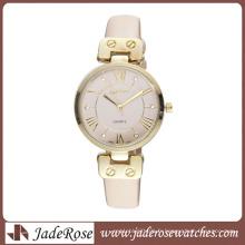 Montre en cuir de montre de mode en gros de montre