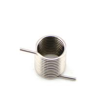 Resorte de torsión doble de acero inoxidable de menor costo
