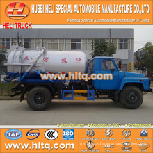 DONGFENG 4x2 6000L vacuum suction sewage truck with vacuum pump
