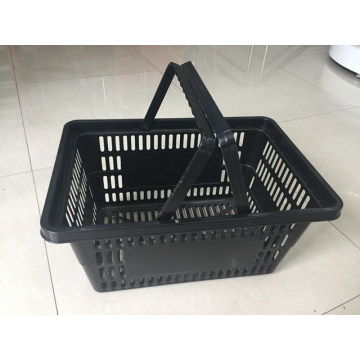 Double Handle Commercial Small Stacking Plastic Basket
