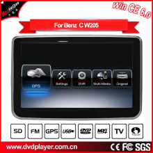 Windows Ce Car DVD Player for Mercedes Benz C Radio DVD Player