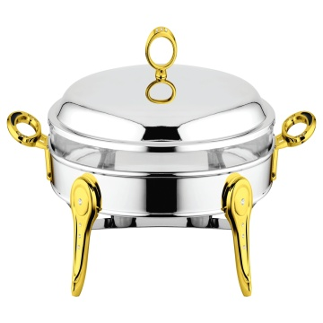 Ellipse Chafing Dish with Stainless steel Lid