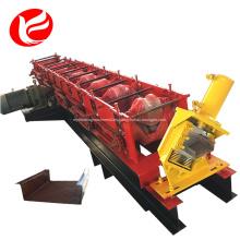 Máquina formadora de rollos de vigas y orugas de metal.