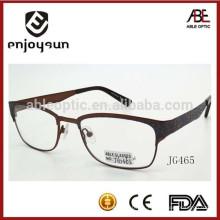 Señora promocional promocional de metal de logotipo de gafas ópticas venta al por mayor China