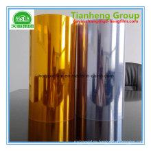 Película rígida de plata de oro del PVC para los chocolates Embalaje del alimento